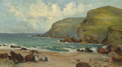 A sunny day on the coast