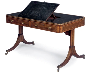 A REGENCY ROSEWOOD AND LINE IN