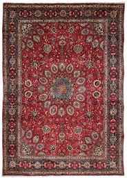 A SAROUK CARPET, WEST PERSIA