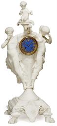 AN ITALIAN WHITE MARBLE FIGURA