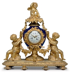 A ORMOLU-MOUNTED SEVRES STYLE