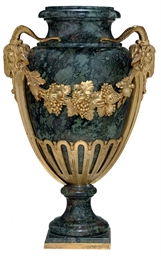 A LOUIS XVI ORMOLU-MOUNTED SER