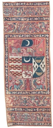 A PERUVIAN ARMORIAL TAPESTRY