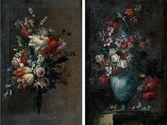 Mazzo di fiori; e Fiori in un