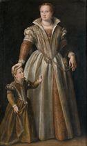 Ritratto di gentildonna con la figlia