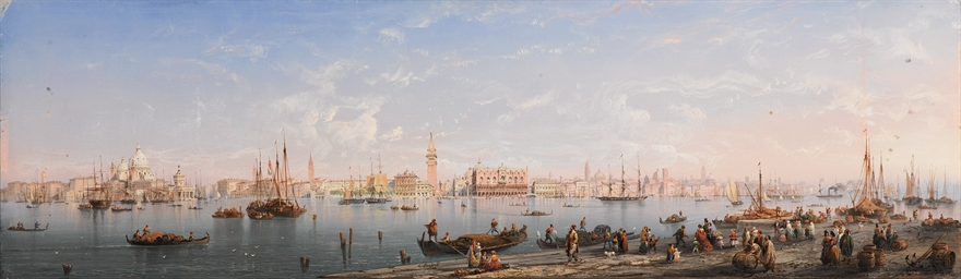 Veduta panoramica di Venezia