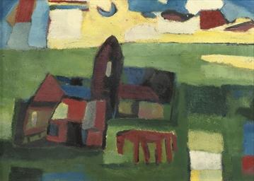 Fries landschap (recto) - Hors