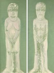 Figur Adam - Figur Eva