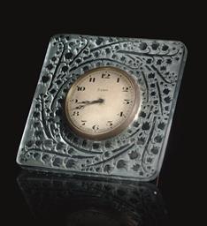 MUGUET CLOCK NO. 768