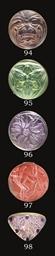FEUILLES BROOCH NO. 1396