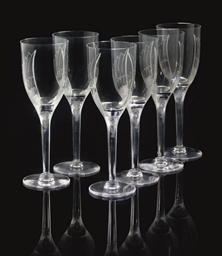 ANGES SIX WINE GLASSES