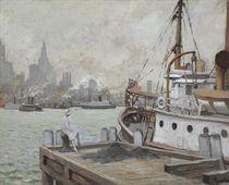 Morning in New York Harbor