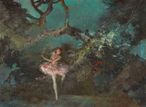 Ballet Girl on Stage