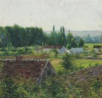 Farmhouses in Giverny
