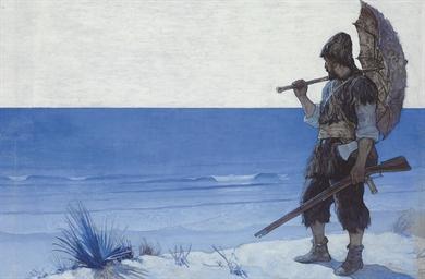 Robinson Crusoe, Endpaper