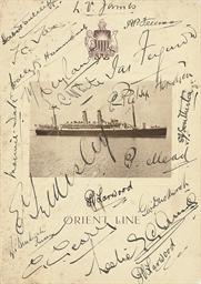 AUSTRALIAN TOUR, 1928-29