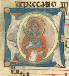 ST LAWRENCE in an initial C by