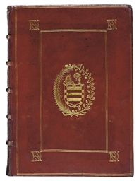 BINDING -- BIBLE, Latin. Paris