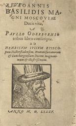 IVAN IV -- ODERBORN, Paul (c.1