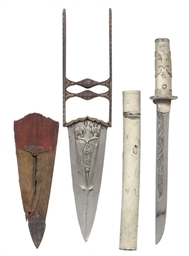 AN INDIAN KATAR, AND A JAPANES