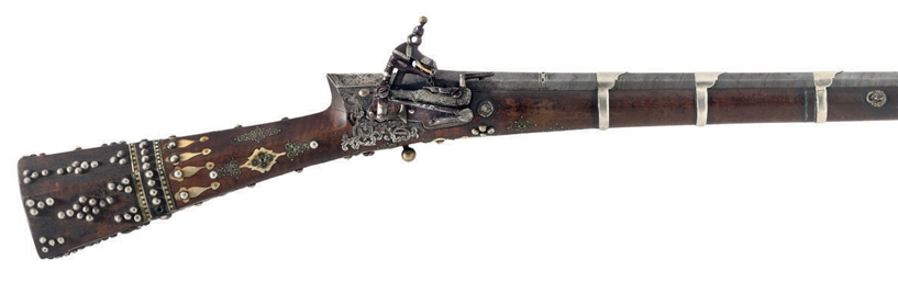 A TURKISH MIQUELET-LOCK GUN