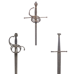 A SWEPT-HILT RAPIER IN EARLY 1
