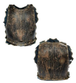 A RARE FRENCH CAVALRY OFFICER'S CUIRASS