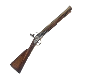 A FLINTLOCK BLUNDERBUSS OF SEA