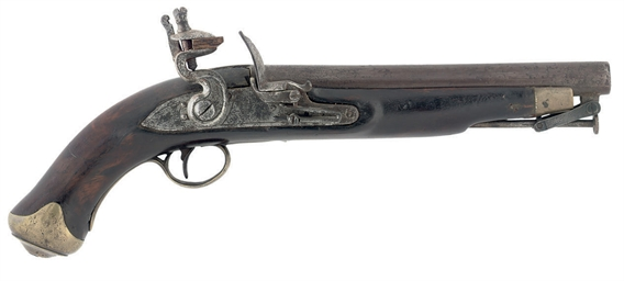 A FLINTLOCK DUBLIN CASTLE NEW