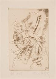 Radierung, 1916 No. II (Roethe