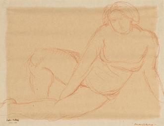 Trois dessins (1.'Etude de nus