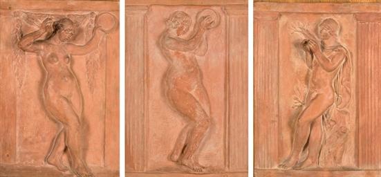 Trois haut-reliefs (1.'Danseus
