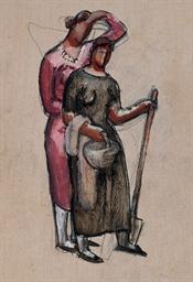 Deux paysannes