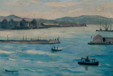 Toulon, l'entrée de la rade