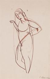Femme nue voilée
