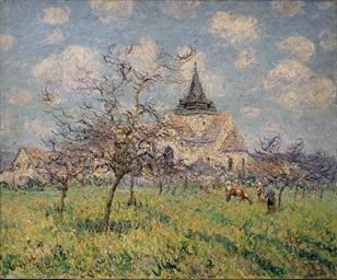 L'église du Vaudreuil, Printem