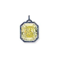 A MAGNIFICENT COLOURED DIAMOND