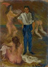 Uomo e donne nude