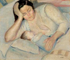 Donna che allatta