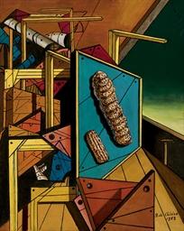 Interno metafisico con biscott