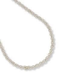 A DIAMOND NECKLACE, BY ADLER