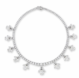 A DIAMOND NECKLACE, BY HARRY W