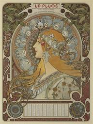 ALPHONSE MARIE MUCHA (1860-193