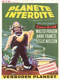 Forbidden Planet  Planete Inte