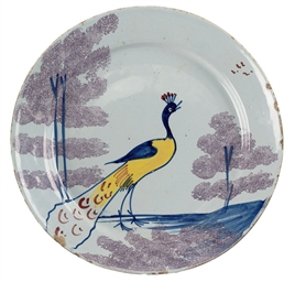 A BRISTOL DELFT POLYCHROME FAR