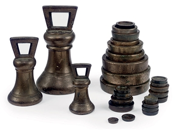 A COLLECTION OF ENGLISH BRONZE