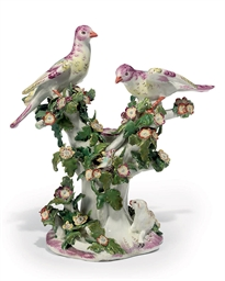 A CHELSEA 'BIRDS IN BRANCHES'