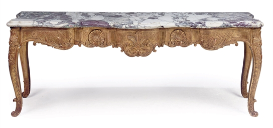 A LOUIS XV PROVINCIAL GILTWOOD