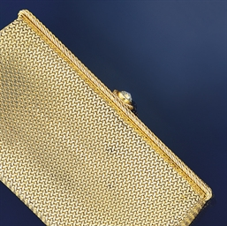 A cigarette case, by Cartier