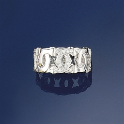 A Diamond-Set Ring, by Cartier